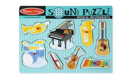 Melissa & Doug Musical Instruments Sound Puzzle - Wooden Peg Puzzle 583c2dc6-5152-49eb-a73b-acb0234a069e