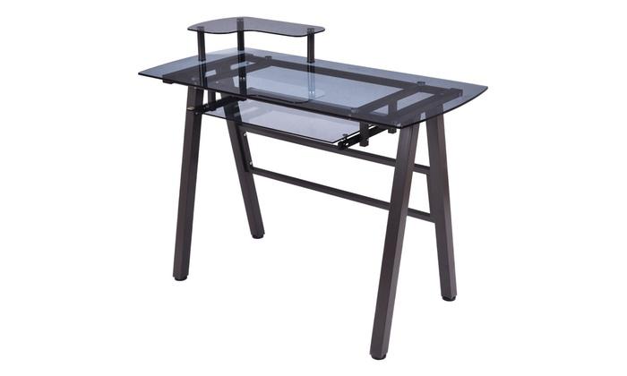 Pc Laptop Table Workstation Metal Frame