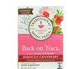 Traditional Medicinals Back On Tract Hibiscus Cranberry Tea Bags, 16 B