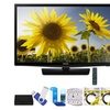 "Samsung UN24H4000 24"" 720p HD Slim LED TV Clear Motion Rate 120"