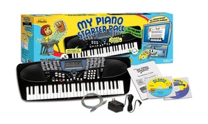 My Piano Keyboard Starter Pack for Kids with Interactive Lessons
