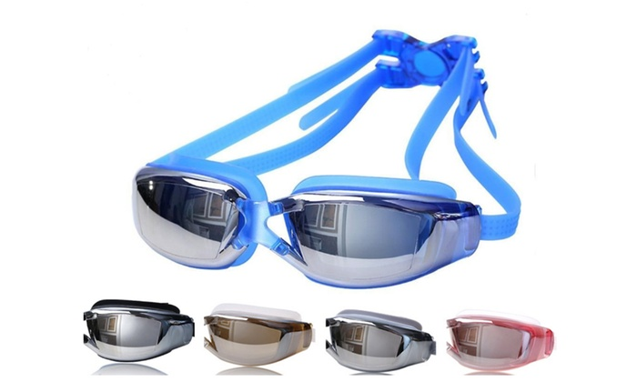 6e64bfa242e Up To 83% Off on Swim Goggles for Adult No Lea...