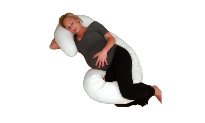 Living Healthy Products COMP 001 01 Comfort Body Pillow