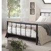 Amy Antique Dark Bronze Metal Platform Bed
