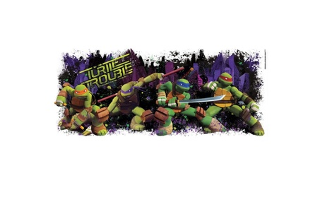 Teenage Mutant Ninja Turtles Turtle Trouble Giant Wall Decal dce0d272-cf96-41d2-b6a1-f5b84be3f955