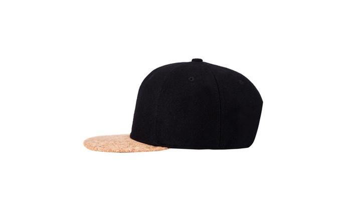 ceaedf22ef3 Flag Snapback Hat Cap Color Matching Flat Brim Hip-hop Cap