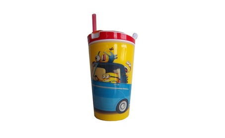 New 2 in 1 Snack & Drink Cup Great For Travel c7390af1-2195-4f02-98a9-a46cab564d88