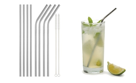 "8.5"" Stainless Steel Drinking Straws for 20oz Yeti Tumbler Rambler Cup 94b13d41-d532-49df-9b41-7963d457ad9b"