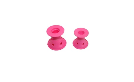 New 20pc Silicone Hair Curler Hair Care Roller Hair Styling Tool Pink c2fd4842-a371-4be4-9617-7fedd24c4a55