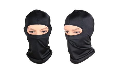 Balaclava Motorcycle Tactical Skiing Face Mask(Pack of 2) - Black 9b907d1c-88f2-4e21-b624-ce412e9f9734