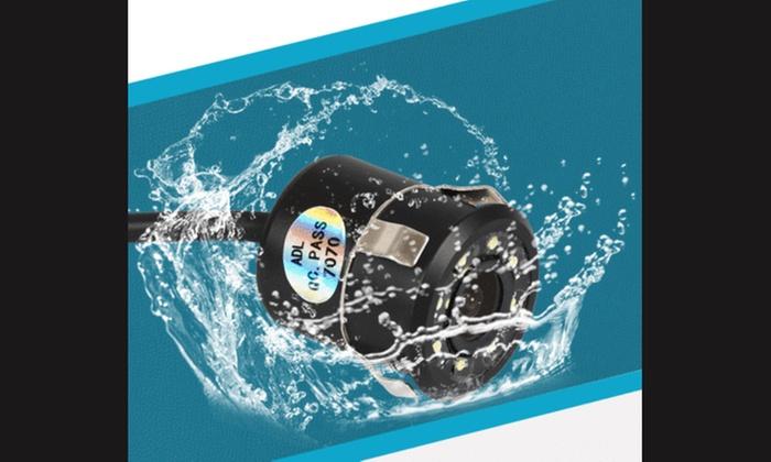 170° Car Rear View Camera Reverse Backup Parking Waterproof Night Vision CCD WH
