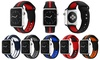 Embossed Stripe Soft Silicone Sport Wristband Strap for Apple Watch