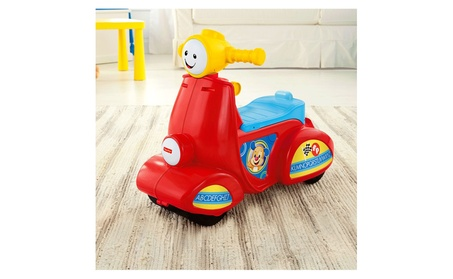 Fisher Price Laugh & Learn® Smart Stages™ Scooter CGX01 9ebc7bd3-06c3-49b6-878e-5f67c07901fb