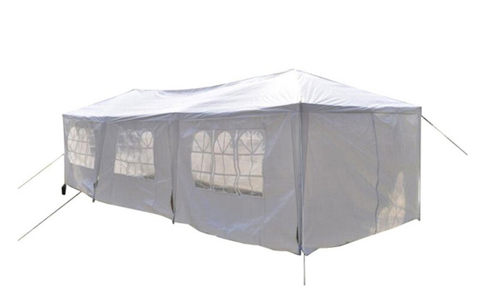 10u2032 x 30u2032 Outdoor Canopy Party Wedding Tent Heavy Duty Gazebo Pavilion  sc 1 st  Groupon : tent heavy duty - memphite.com