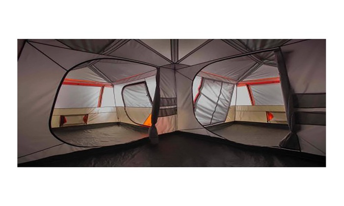 Ozark Trail 16x16 Instant Cabin Tent (Sleeps 12) | Groupon
