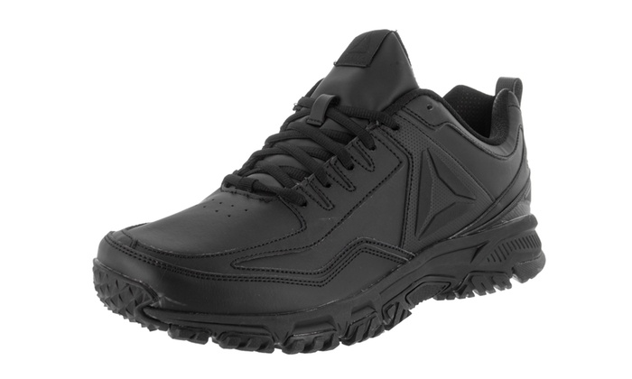 Reebok Men s Ridgerider Leather 4E Casual Shoe Medium 11 4E Men US Black  Black Black 7399754c1