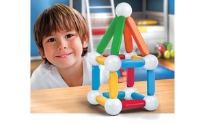 Discovery Kids' Magnetic Block Set (25-Piece)