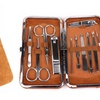11-in-1 Manicure Set With Leather Case