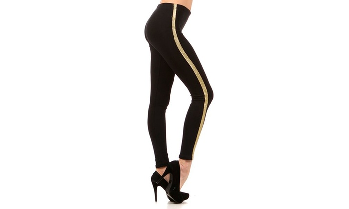 Lady'S The Junction Stripe Legging