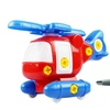 Cute Aircraft Nut Toy Children Educational Puzzle Block Toy Kid Gift