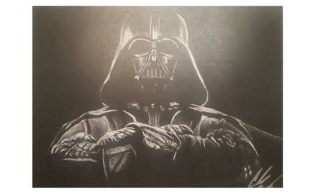 Darth Vader Star Wars 11x14 The Dark Lord Drawing 2609e013-bfbe-4221-b8b2-87ec13a5e0c0