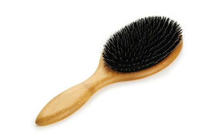 Wooden Comb Knot Anti Static Large Paddle Hairbrush with Gasbag d23207b1-4c49-430c-b2cb-12d7ae257cb6