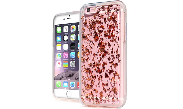 (XL) iPhone 7 Plus Deluxe Flake Case Rose Gold  244394f5e
