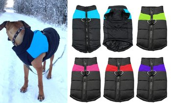 Cold Weather Dog Waterproof Cold-proof Warm Vest Jacket Coat