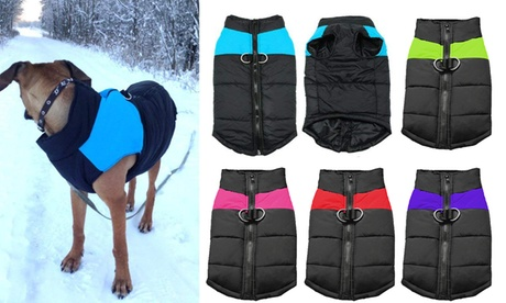 Cold Weather Dog Waterproof Cold-proof Warm Vest Jacket Coat