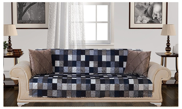 Groovy Armless Sofa Futon Couch Pet Cover Furniture Protector Download Free Architecture Designs Scobabritishbridgeorg
