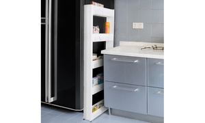 Mobile Shelving Unit Organizer