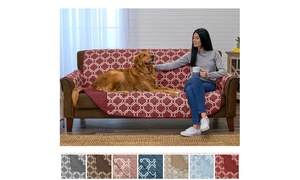 Reversible Printed Quilted Furniture Protector Set (2-Piece)