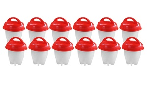 12 - Pack Kitchen Egglettes Egg Cooker Egg Boiler