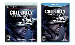 Call of Duty: Ghosts for PlayStation 3 or Nintendo Wii U