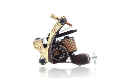10 Wrap Coils Low Carbon Steel Tattoo Machine Gun 1a5ea49a-4b10-4b43-94ed-deca9c09d06c