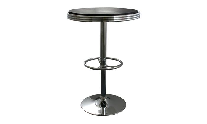 amerihome soda fountain style bar table