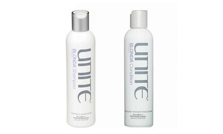 Unite Blonda Toning Shampoo & Conditioner 8oz Duo set Hair Care for Unisex