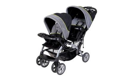 Baby Trend Sit 'N Stand Double Stroller, Pistachio 662dfbc9-e588-4f4c-b666-0a08b3566692