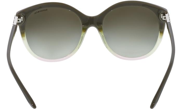 4e6482bdc5 Tiffany   Co Women s Gradient TF4133-82263M-56 Grey Round Sunglasses ...