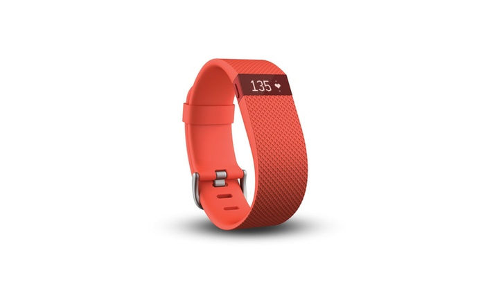 Fitbit Charge HR Activity, Heart Rate + Sleep Wristband Large