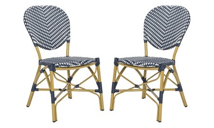 Safavieh Lisbeth French Bistro Stacking Side Chairs