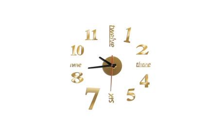 New Modern DIY Large Wall Clock 3D Mirror e86681e5-6247-406a-a346-2fd0a65d8892
