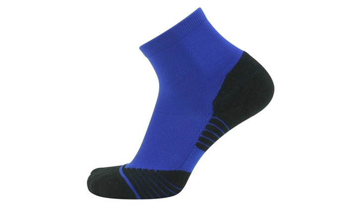 Performance Cushioned Cotton Running Athletic Sport Socks