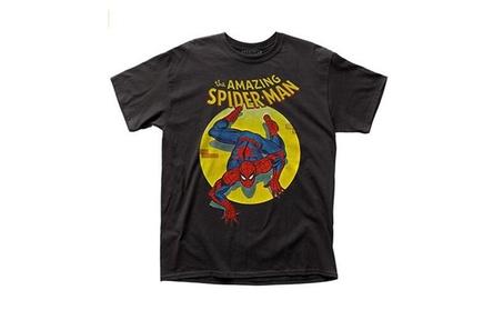 Oukai Spiderman - Spotlight Mens T-Shirt 9e592b27-a526-4205-bfc6-0f3a78352671