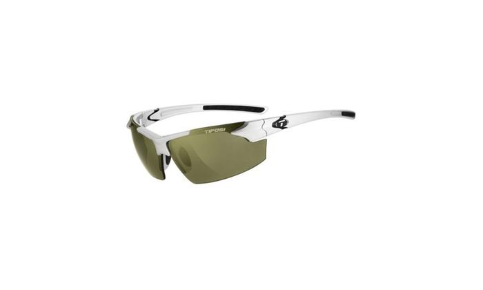 Tifosi Jet FC Wrap Sunglasses Metallic Silver