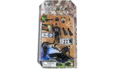 Click N Play Military Navy Seal Action Figure 20 Piece Play set d6b4ca45-f1be-43c5-b978-97d8cb60bd94
