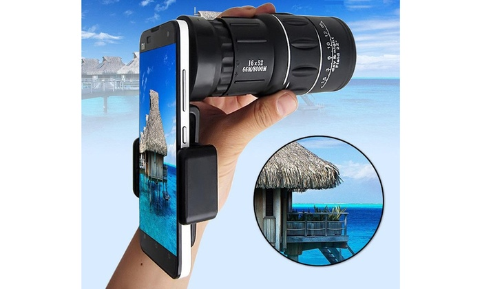 Up to off on dual focus hd monocular groupon goods