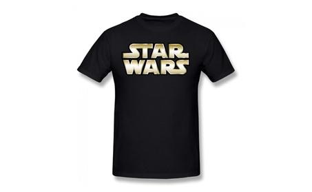 Rong'c Mens Star Wars 7 T-shirt V-neck Black c7ba258f-5339-4cae-aa4d-1d4250417c68
