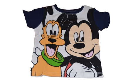 Genuine Disney Mickey Pluto Baby Toddler Navy White Best Pals T Shirt 3a74ed0a-6658-4c6a-be45-afef21a8e713