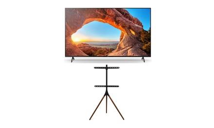 Sony KD55X85J X85J 55-Inch Class HDR 4K UHD Smart LED TV (2021)w/ TV Floor Stand